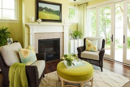 Poze Living - Amenajare clasica a livingului realizata de Martha O'Hara Interiors