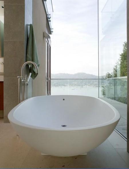 Poze Baie - Amenajare baie Hillside Residence, Sutton Suzuki Architects