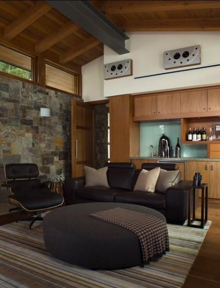 Poze Bar - Imagine amenajare bar Hillside Residence, Sutton Suzuki Architects