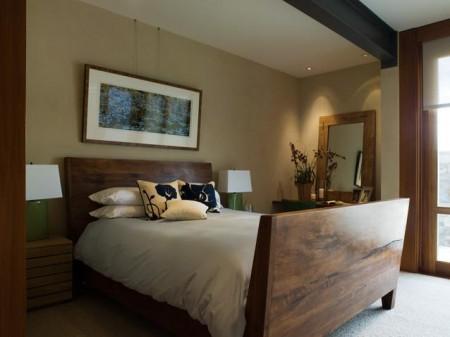 Poze Dormitor - Imagine amenajare dormitor Hillside Residence, Sutton Suzuki Architects