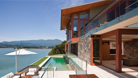 Poze Fatade - Imagine amenajare fatada Hillside Residence, Sutton Suzuki Architects