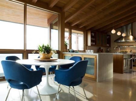 Poze Sufragerie - Imagine amenajare sufragerie Hillside Residence, Sutton Suzuki Architects