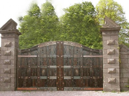 Poze Garduri si porti - hjnick-poarta-lemn-2.jpg