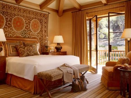 Poze Dormitor - Materialele textile nelipsite dintr-o amenajare in stil clasic