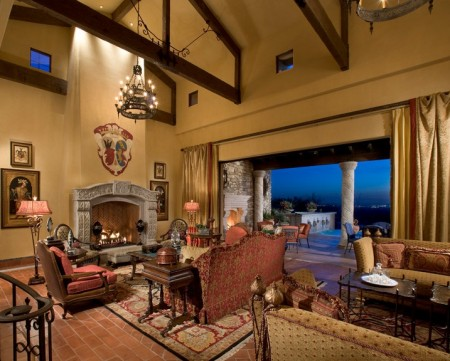 Poze Living - Interior in stil mediteranean