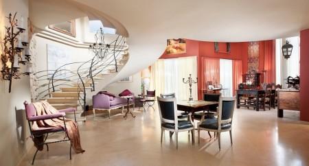 Poze Living - Amenajare interioara in stil art-deco