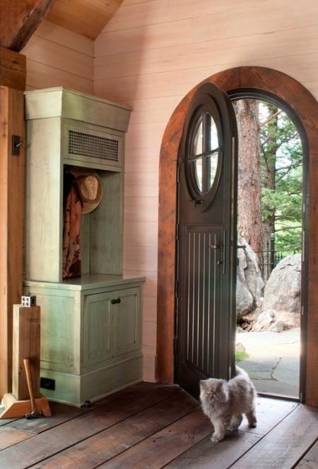 Poze Intrare si hol - Intrare casa de vacanta rustica