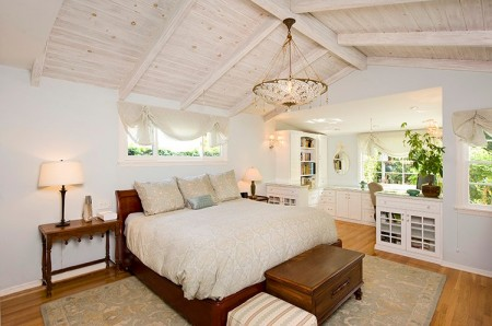 Poze Dormitor - Dormitor si birou la mansarda