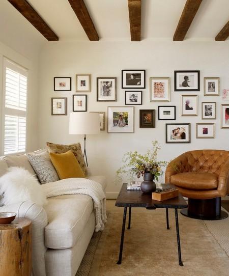 Poze Living - Elemente decorative pentru peretii albi