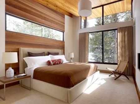 Poze Dormitor - Dormitor modern intr-un peisaj de vis