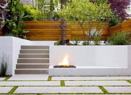 Poze Gradina de flori - Amenajare exterioara moderna, minimalista