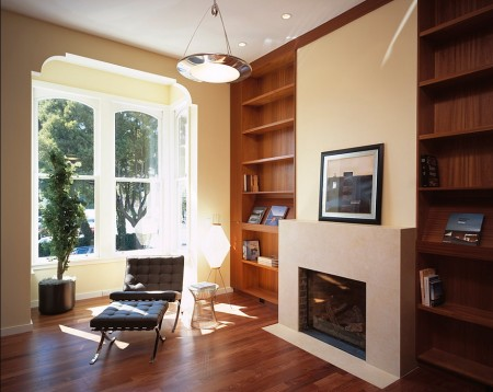 Poze Birou si biblioteca - Birou si biblioteca moderna