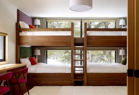 Poze Copii si tineret - Dormitor cu paturi etajate