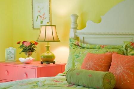 Poze Dormitor - Aduceti primavara in dormitor prin culoare!
