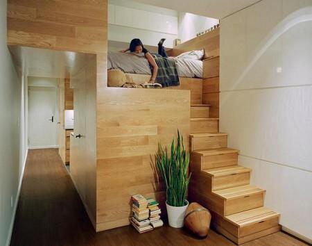Poze Scari - Scara sifonier catre dormitor