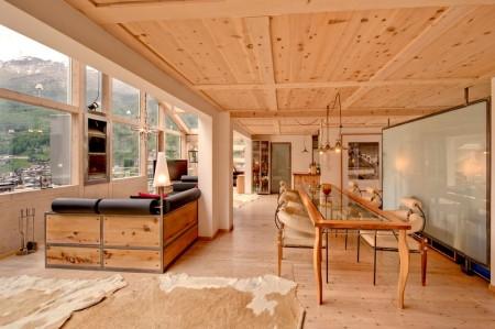 Poze Sufragerie - Lemn si sticla intr-o superba casa de vacanta