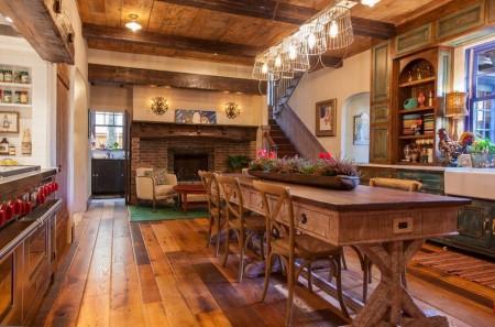 Poze Bucatarie - Te fascineaza mobila si decoratiunile vechi? Decoreaza-ti casa in stil traditional!