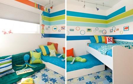 Poze Copii si tineret - Atmosfera vesela in camera copiilor