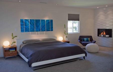 Poze Dormitor - Semineul in locuintele moderne
