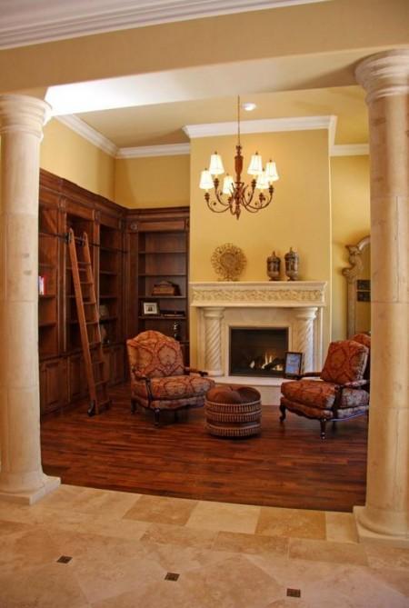 Poze Birou si biblioteca - Un loc perfect sa te retragi cu o carte buna