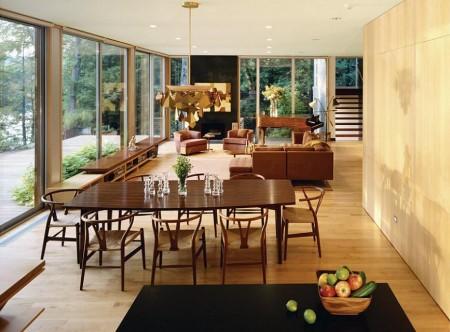 Poze Sufragerie - Zona de zi moderna, deschisa