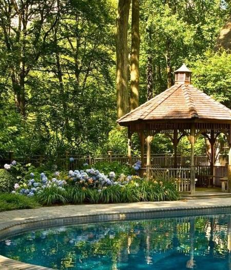 Poze Foisor si pavilion - Foisor simplu din lemn