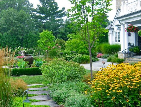 Poze Gradina de flori - Amenajare gradina