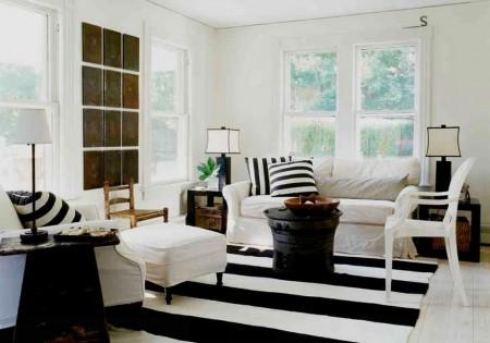 Poze Living - Simplitate in alb si negru