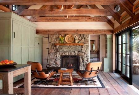 Poze Living - Living casa de vacanta rustica