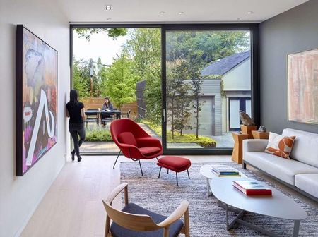 Poze Living - Design modern in zona de zi