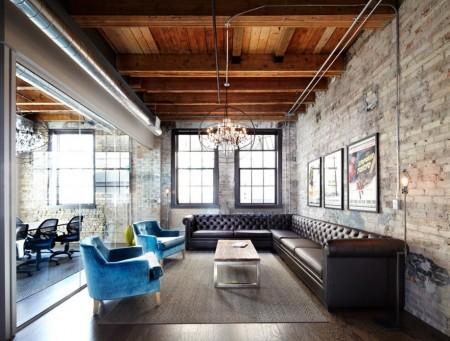 Poze Living - Stilul industrial, tot mai prezent in decorarea unui living modern
