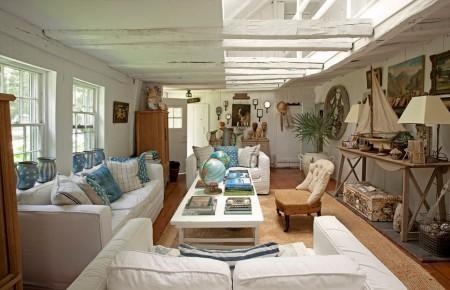 Poze Case lemn - Marea a constituit inspiratia pentru decorarea acestei case de vacanta din lemn