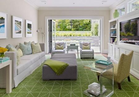 Poze Living - Verdele invioreaza atmosfera oricarui interior
