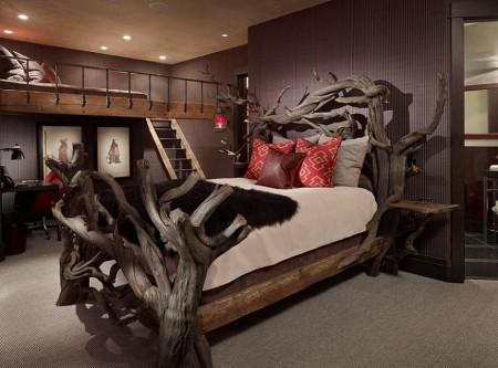 Poze Dormitor - Patul copac