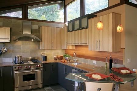 Poze Bucatarie - Lumina naturala in bucataria moderna