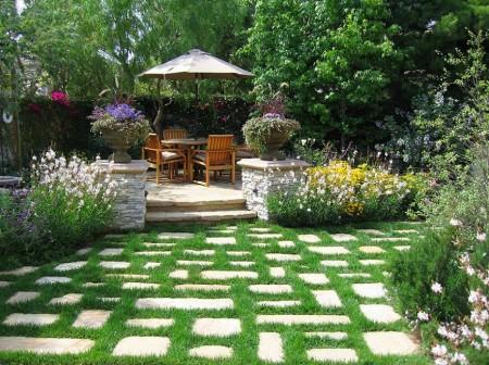 Poze Terasa - Amenajare terasa si alei cu piatra naturala