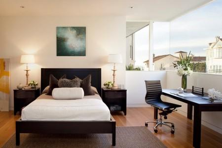 Poze Dormitor - Spatiu de lucru in dormitorul modern