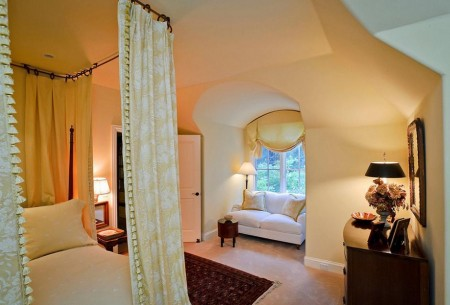 Poze Dormitor - Dormitor cu baldachin