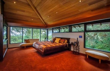 Poze Dormitor - Dormitor modern la mansarda
