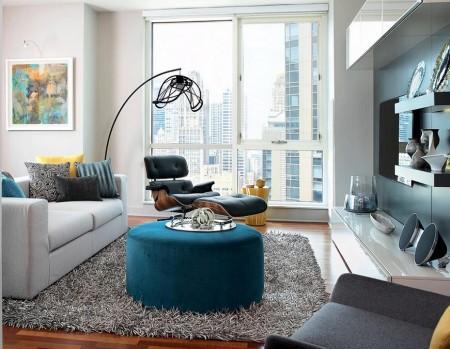 Poze Living - Living urban, ultramodern
