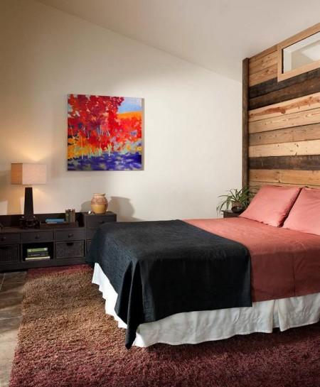 Poze Dormitor - Cateva scanduri vechi, punctul focal al dormitorului