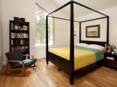 Poze Dormitor - Dormitor modern cu baldachin