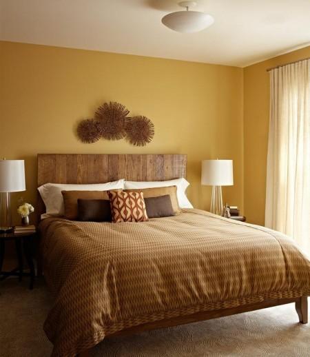 Poze Dormitor - Dormitor modern in culori naturale