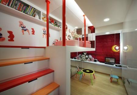 Poze Copii si tineret - Optimizarea spatiului intr-o camera moderna pentru copii
