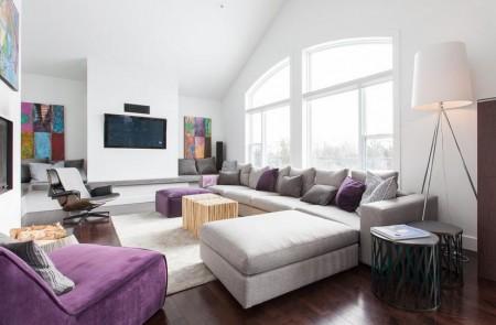 Poze Living - Decor modern in living