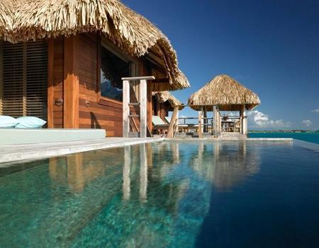 Poze Piscina - Piscina - Four Seasons Resort Bora Bora, Polinezia Franceza