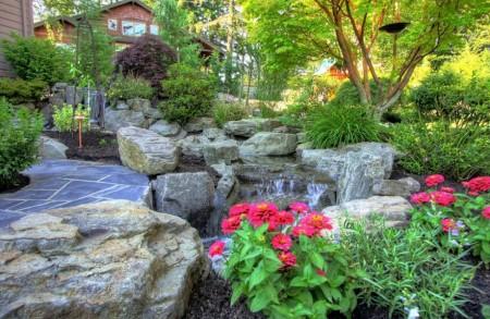 Poze Gradina de flori - Amenajarea gradinii cu plante decorative