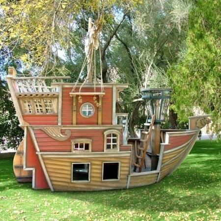 Poze Locuri de joaca - Loc de joaca pentru copii - corabie