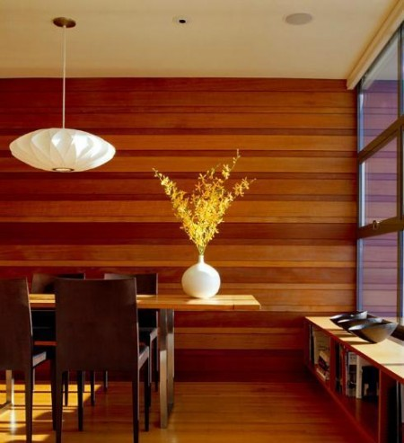 Poze Sufragerie - Amenajare dining - Potrero Hill Residance, Aidlin Darling Design