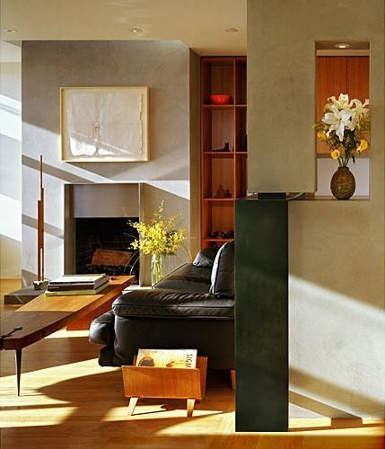 Amenajare living Potrero Hill Residance, Aidlin Darling Design